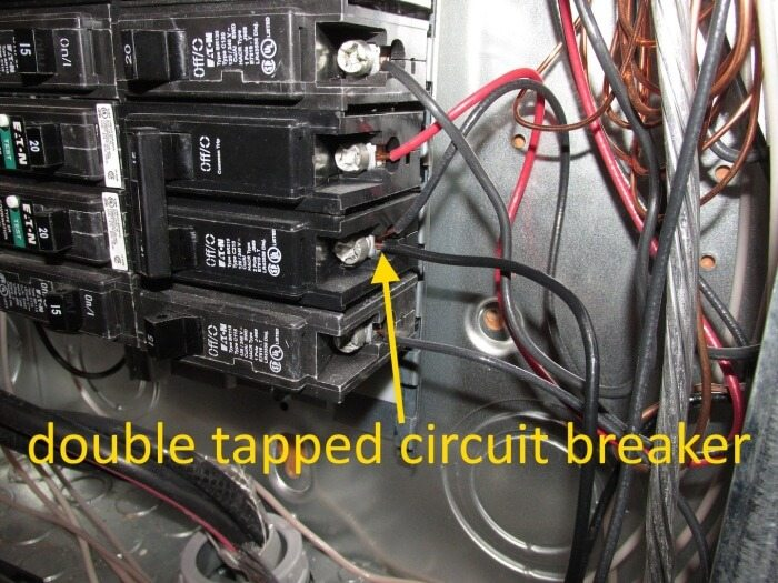 Electrical - Double Tapped Circuit Breaker