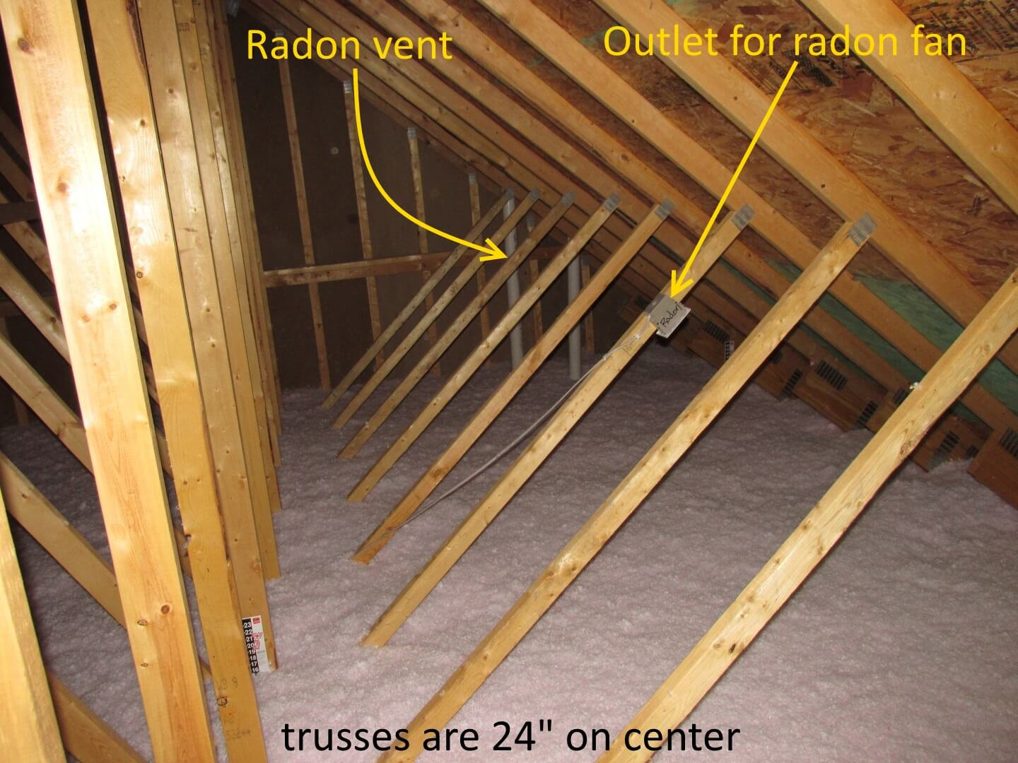 Minnesota Home Builder Wont Allow Attic Inspections My Two Cents House Fuse Box Wiring An Heres A Where The Agreed To Install Radon Fan But Installed On Its Side Fans Should Be Vertically Help Prevent
