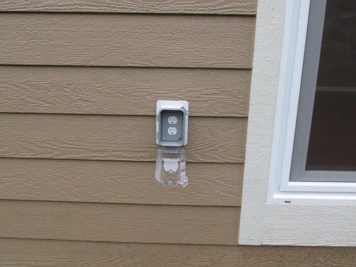 Electrical - Upside Down Weatherproof Cover
