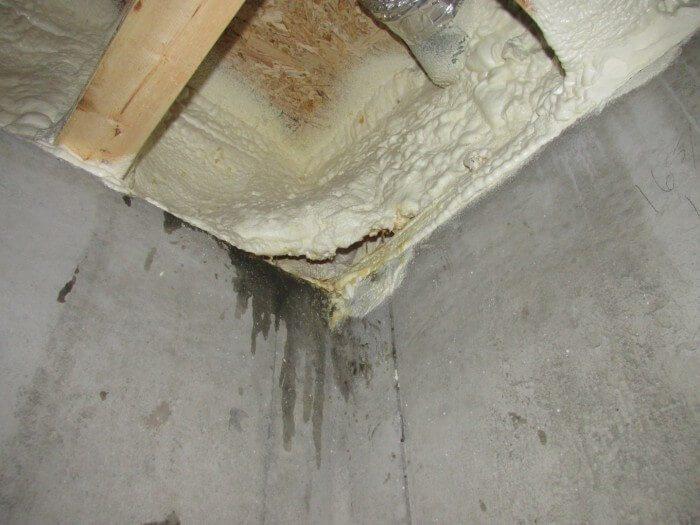 Interior - spray foam problem