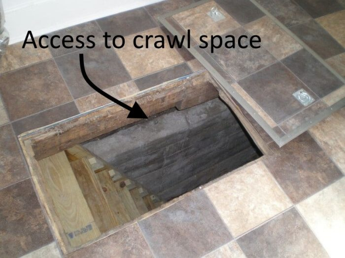 access to crawl space