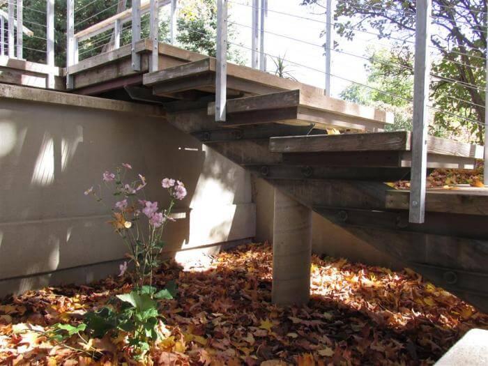 overbuilt steps