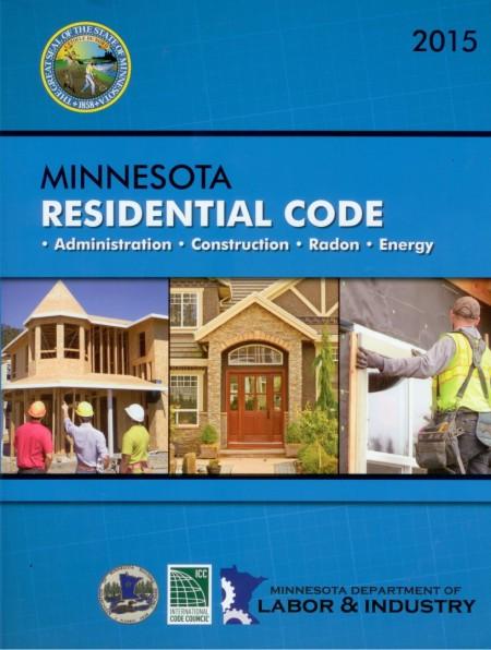 Minnesota Residential Code 2015