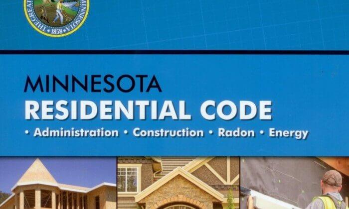 Minnesota Residential Code 2015 (cover)
