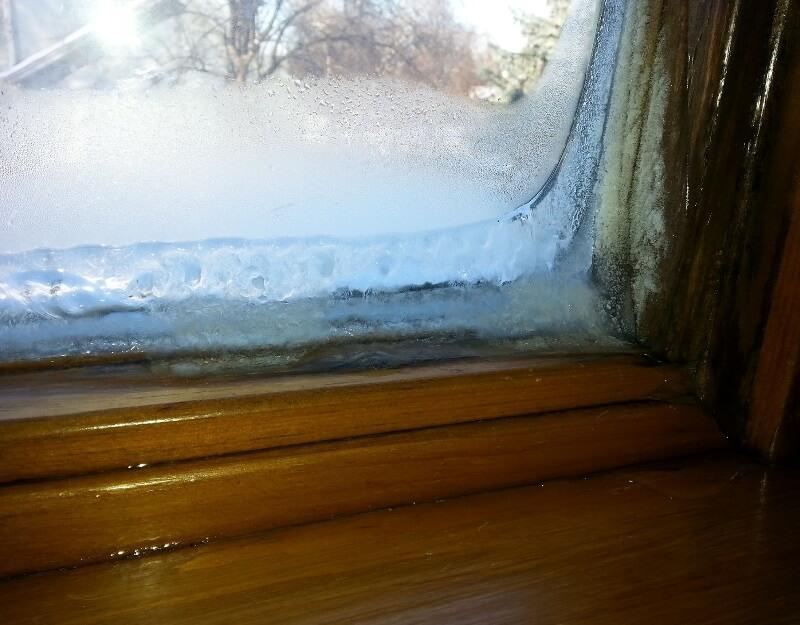Ice on Window (cover)