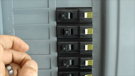 AFCI circuit breaker won't reset