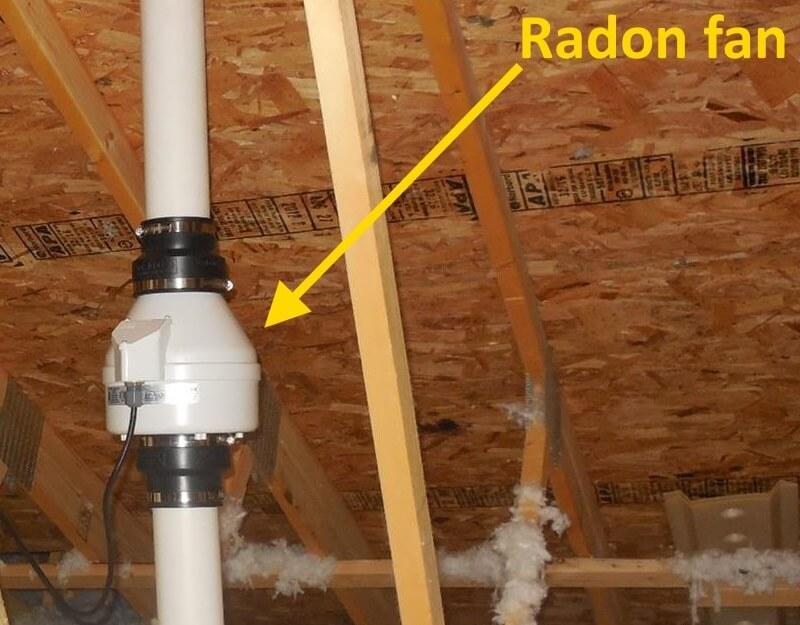 Radon Fan Cover
