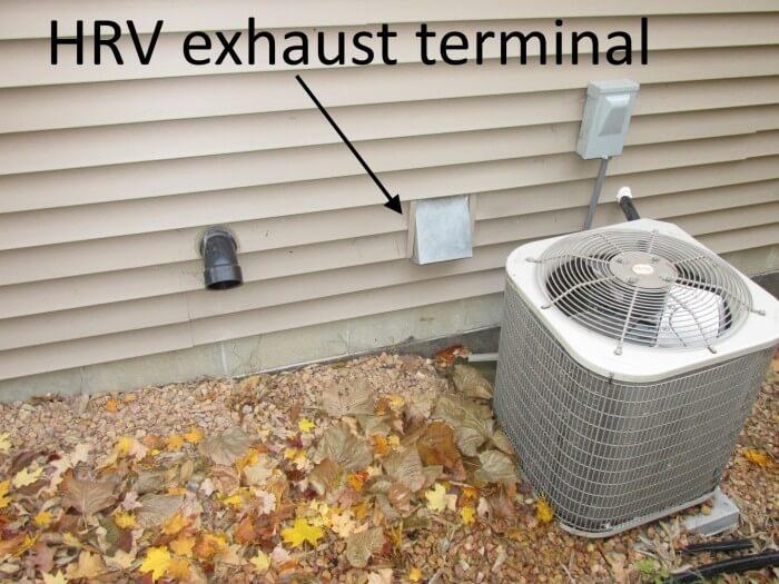 HRV Exhaust Terminal