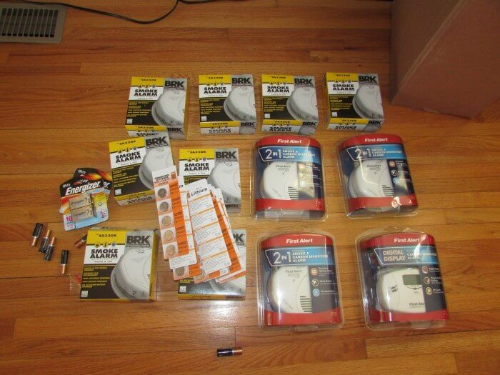 Smoke Alarm Assortment