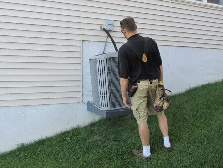 Tipping AC Unit