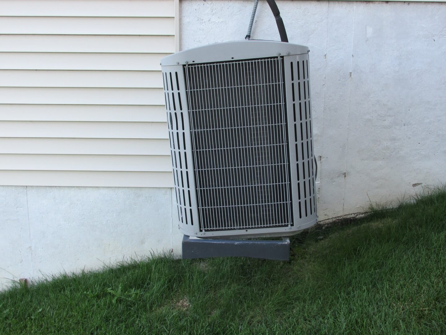 How to inspect your own house part 9 the air conditioner for Ac condenser pad installation