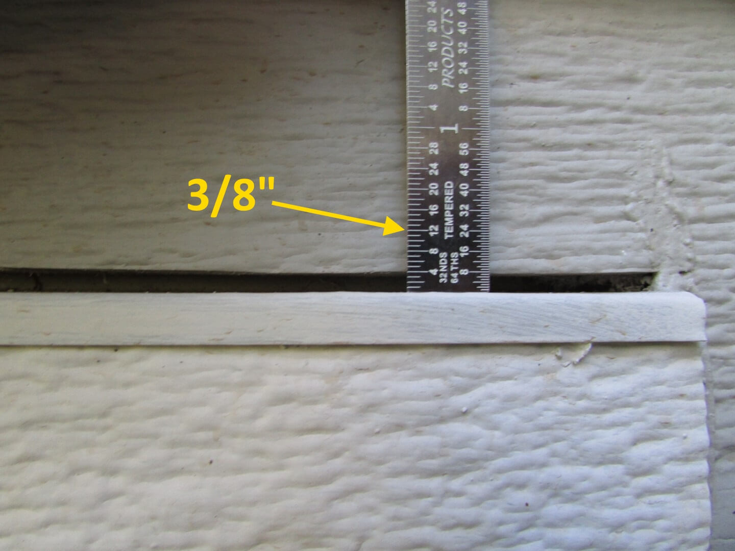 Many problems with installations of lp smartside siding improper clearance above window 2 asfbconference2016 Gallery
