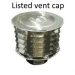 Listed Vent Cap