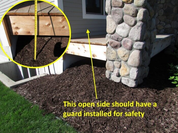 Deck - missing guard