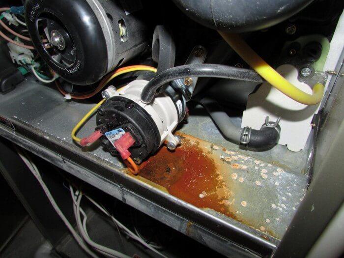 HVAC - condensate leak