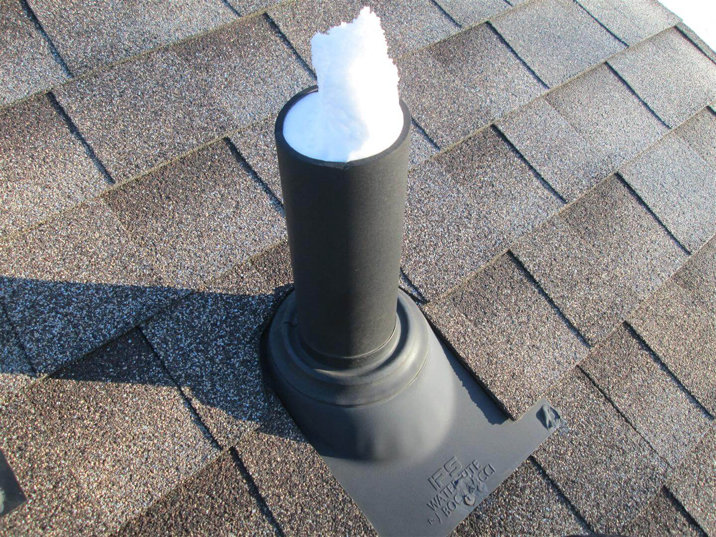 attic antenna ideas - Plumbing Vents Covered with Frost