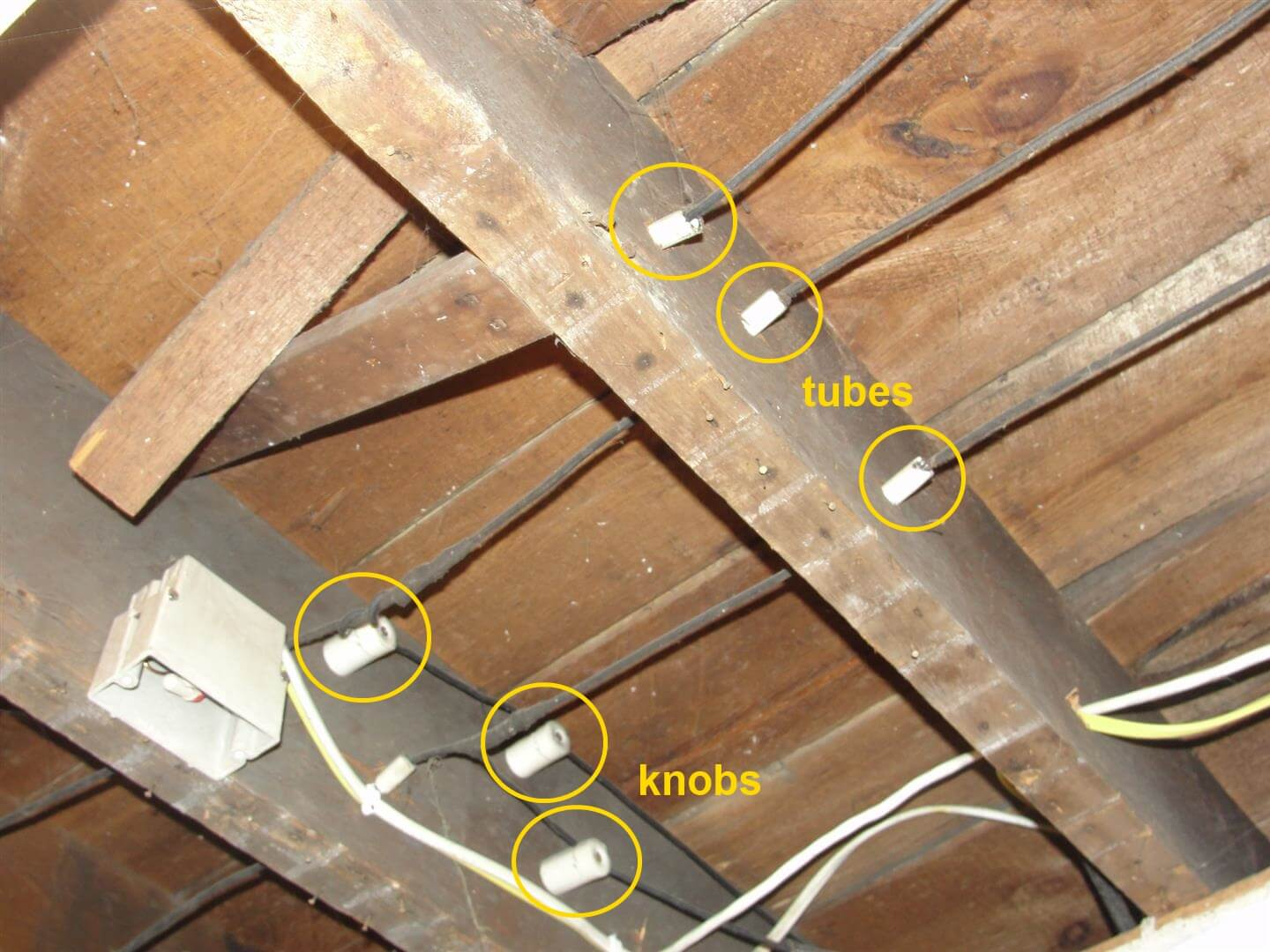 Home Inspection Checklist Interior Wiring In Basement At Best The Remaining Knob And Tube Is Good Condition Most Of It Has Been Replaced Be Aware However That Many Insurance Companies