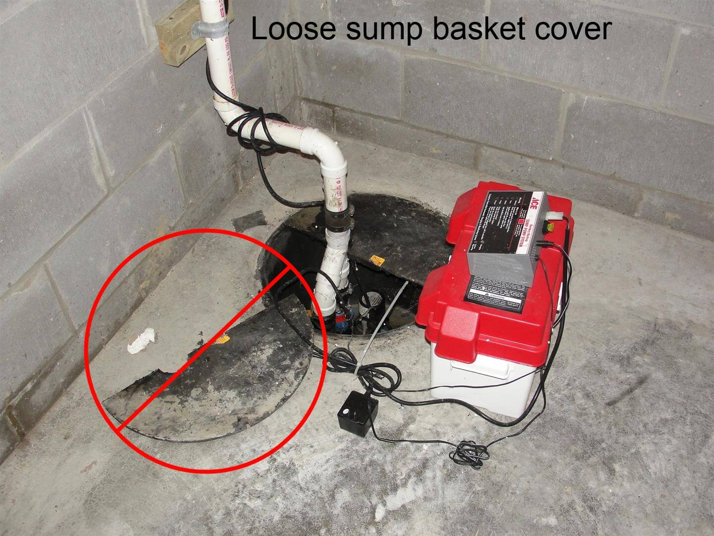 Five Common Sump System Defects Electrical Wiring In The Home Basement And Installing