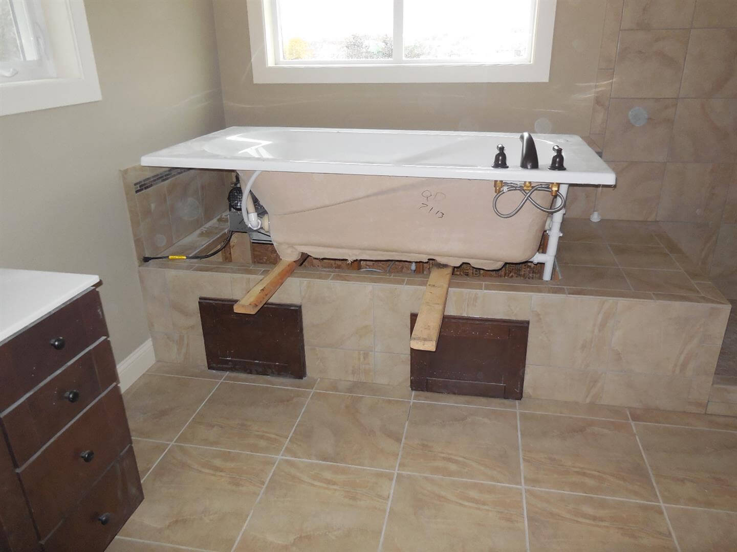 Photos From New Construction Home Inspections Part Iii Wiring A House Plumbing This Image Shows