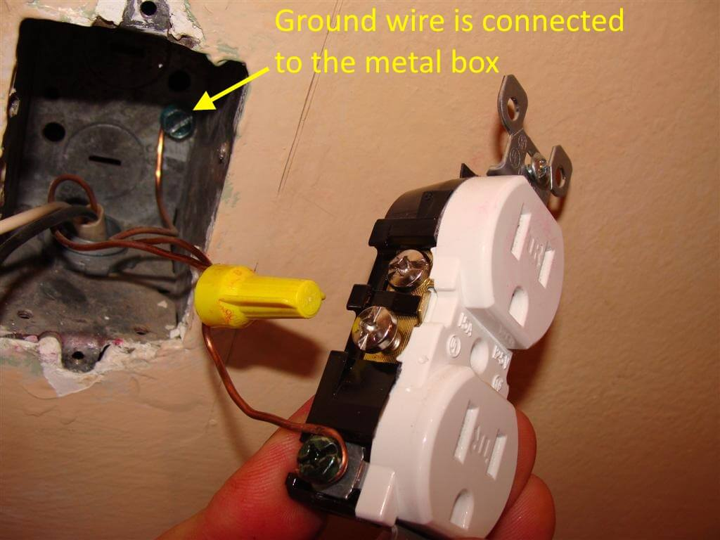 How To Repair Ungrounded Three Prong Outlets Electrical Wall Outlet Box Grounding